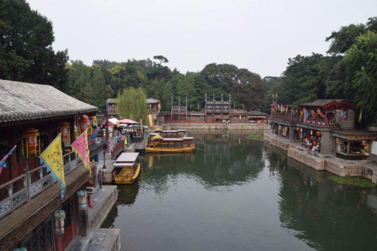 Suzhou Street in het Zomerpaleis