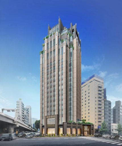 Impressie van het nieuw te openen Kimpton Tokyo (Bron: IHG)