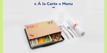 Reizigers Air France kunnen kiezen voor nieuw gezond menu 'Healthy'.