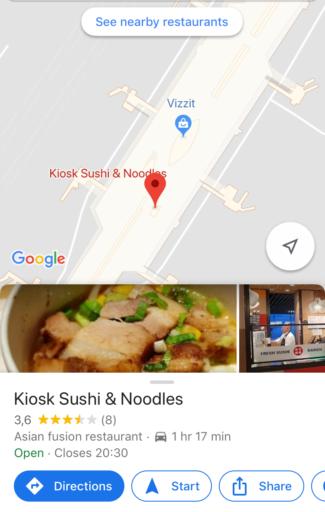 Vind je weg op Schiphol met Google