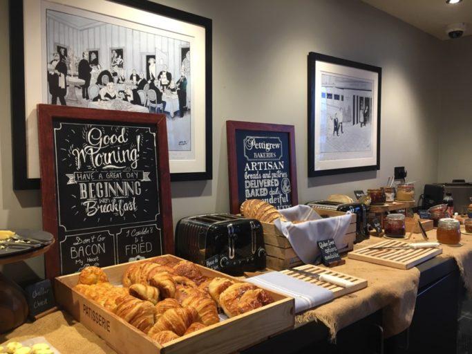 Genoeg keuze bij het ontbijtbuffet