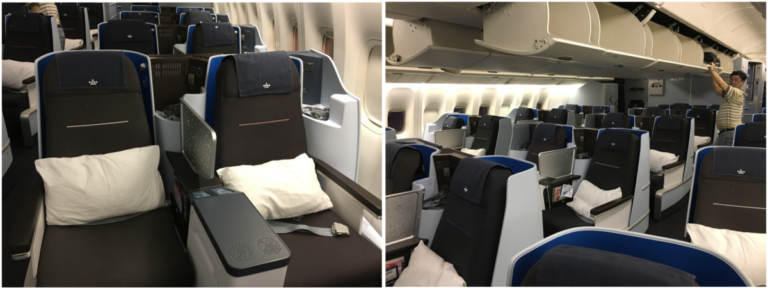 Review KLM World Business Class Jakarta - Kuala Lumpur - Fifth Freedom