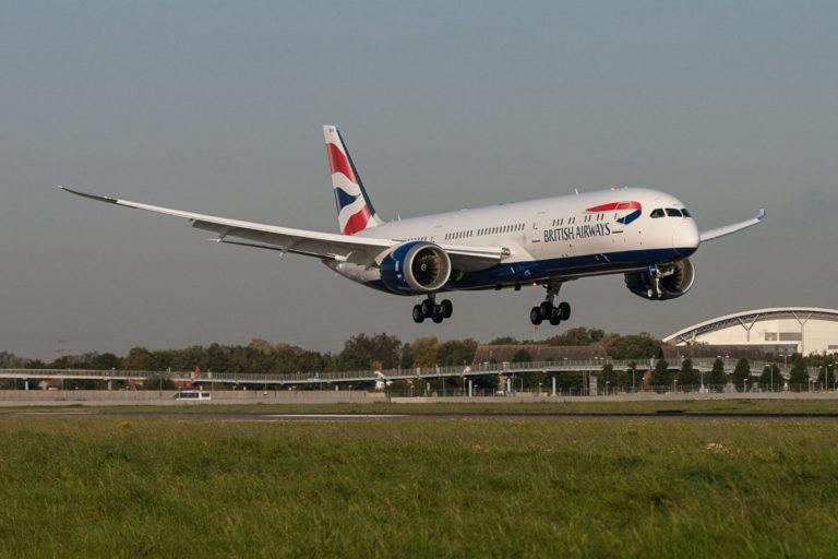 British Airways Boeing 787-9