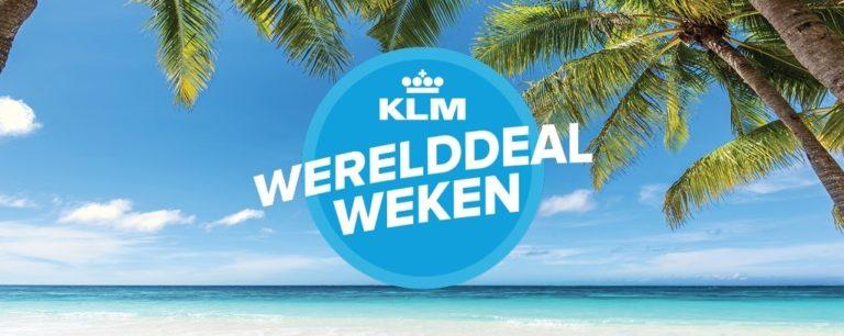 Leuke kortingen tijdens KLM Werelddeal Weken