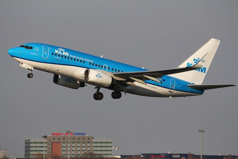 KLM Boeing 737