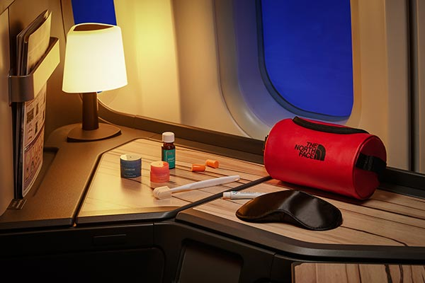 China Airlines start samenwerking met The North Face