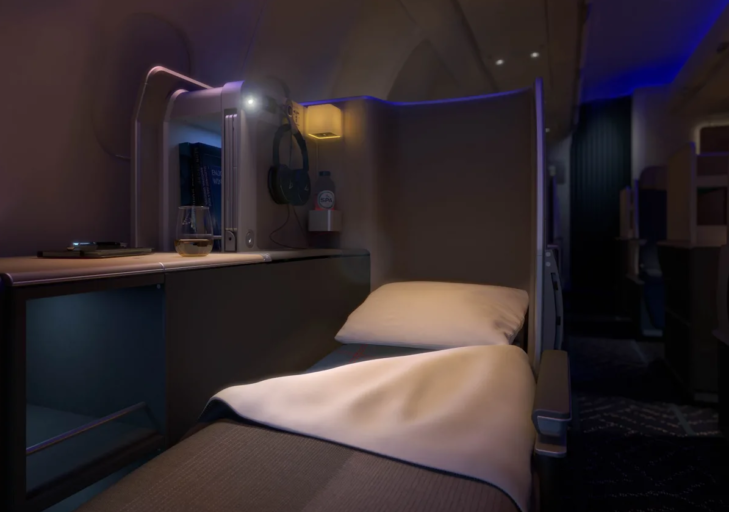 Brussels Airlines business class 2