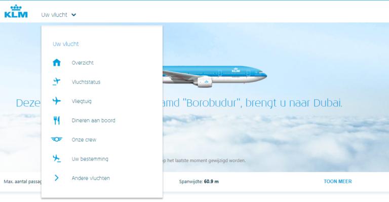 KLM Flight Guide Gids