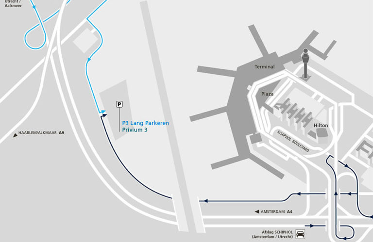 Schiphol Parking P3