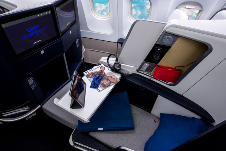 Air France A330 Business Class