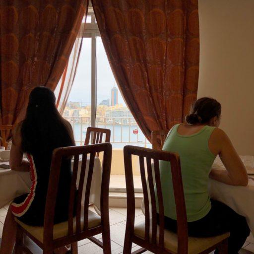 Uitzicht Plaza Regency Malta.