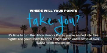 Hilton Points Explorer