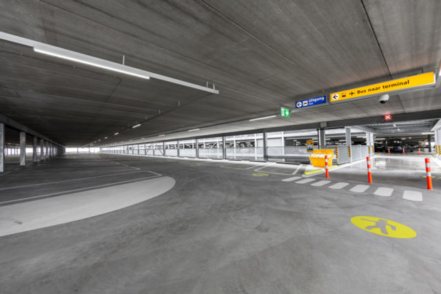 Het nieuwe gedeelte van P3 Lang Parkeren (Bron: Schiphol)