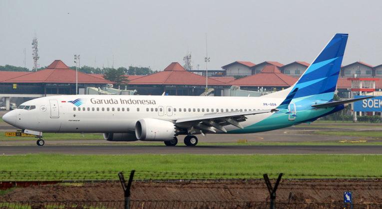 Boeing 737 MAX 8 Garuda Indonesia