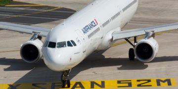 Airbus A321 van Air France op de luchthaven (Bron: Air France)