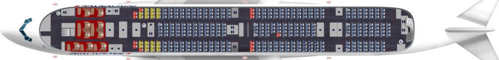 A380 boven Air France ©Air France