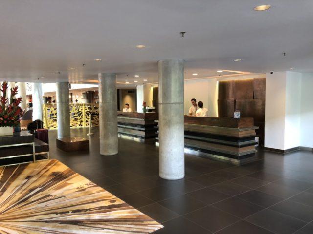lobby, garden inn, bali, denpasar