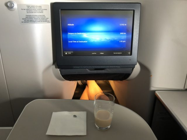 liqueur, Malaysia airlines, a330, business class