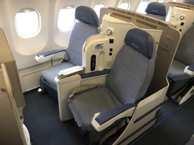 air europa, business class, a330
