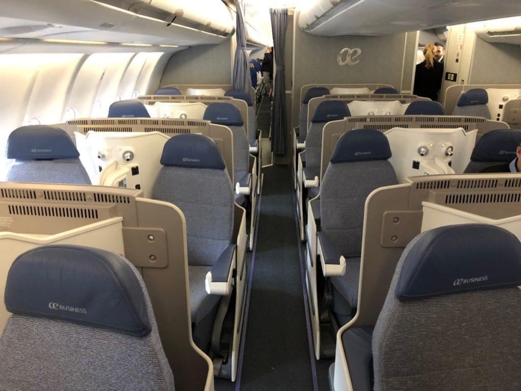 air europa, business class