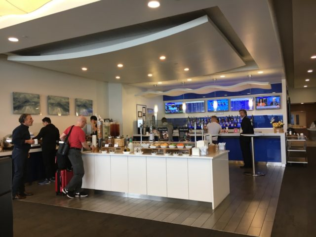 Review - Delta Sky Club Lounge SeaTac Airport South Satellite