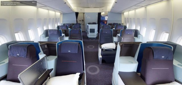KLM B747-400 virueel 3