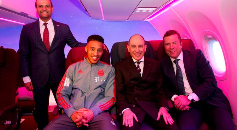 Qatar Airways New Economy Seat ITB Berlin
