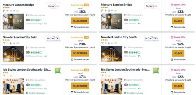 WeekendDeal – AccorHotels geeft 40% korting aan leden