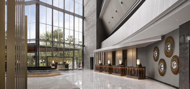 Imposante lobby van het Fairmont Barcelona (Bron: AccorHotels / Fairmont)
