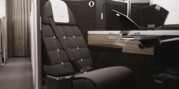 British Airways nieuwe business class