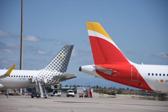 Iberia en Vueling voeren meer dan twintig dagelijkse vluchten tussen BCN en MAD uit (Bron: Iberia Group)