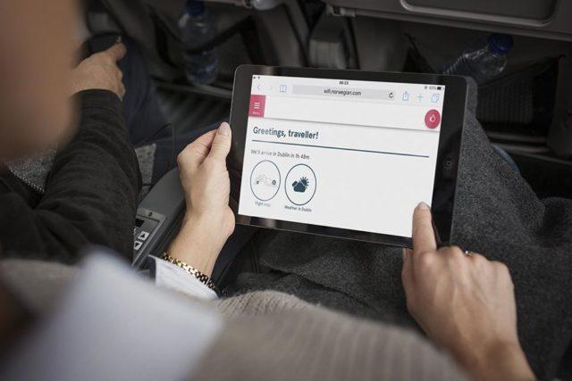 Norwegian - Gratis Wi-Fi aan boord