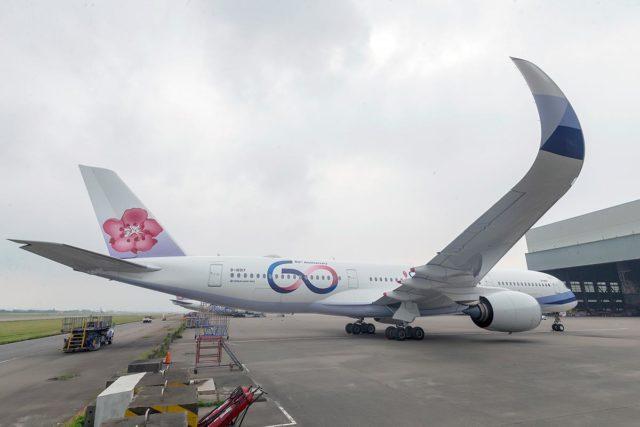 Nieuw logo en livery voor jarig China Airlines