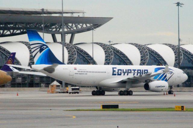 Airbus A330-200 van EgyptAir (Bron: Flickr / Aero Icarus)