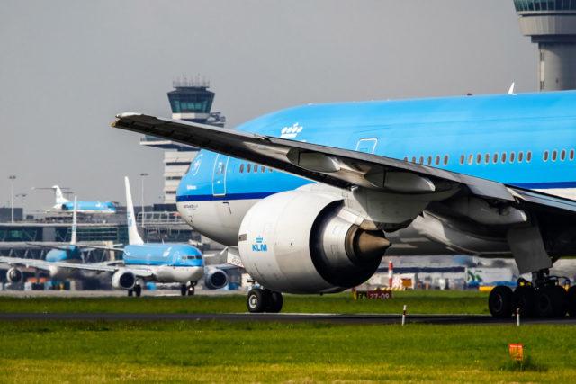 De Boeing 777-200 van KLM (Bron: KLM)