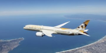 Boeing 787-9 Dreamliner in Etihad Airways livery (Bron: Etihad)