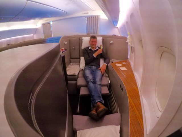 cathay pacific, first class