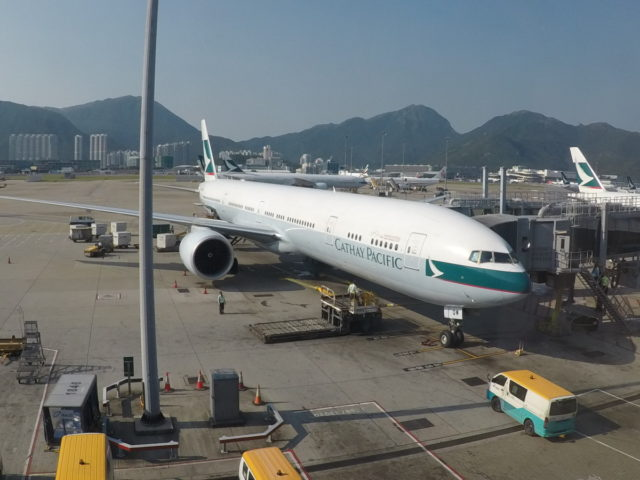 cathay pacific, hong kong, gate