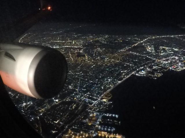 manila, aankomst, japan airlines
