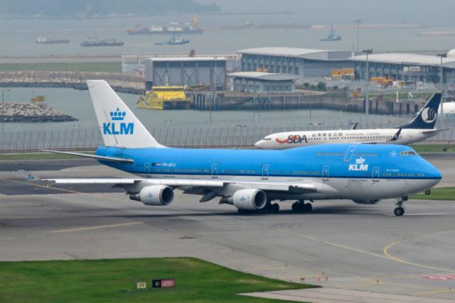 Deze Boeing 747-400 combi van KLM gaat met pensioen (Bron: Wikimedia Commons)
