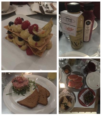 Een selectie van de gerechten bij Teresa Carles