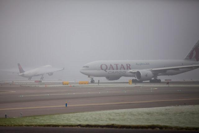 Dichte mist is één van de oorzaken van vertraging (Bron: Schiphol)