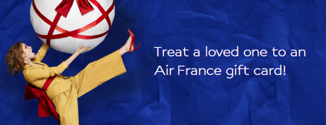 Air France giftcard