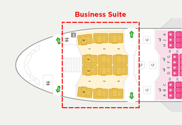 Business Suite Asiana