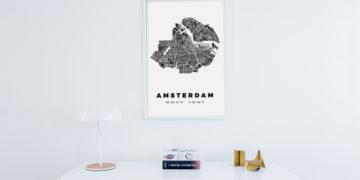 Introductie: Citography – Een bijzonder poster van je favoriete stad aan de muur