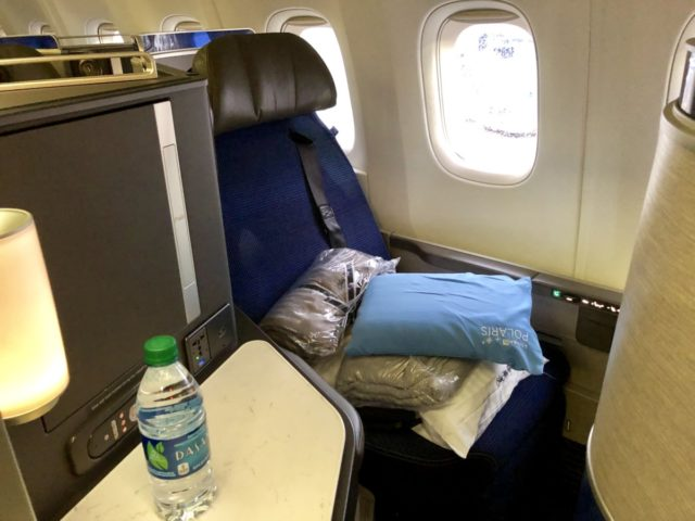 united airlines, polaris, business class