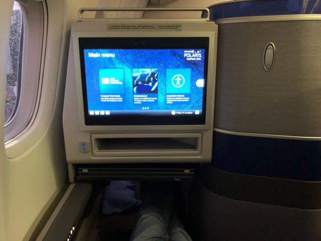 united, polaris, business class