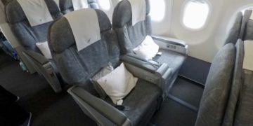 a320, royal air Brunei, business class