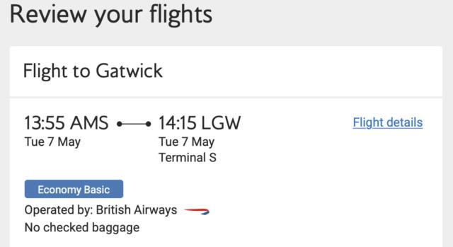 Goedkoop met British Airways naar Londen (enkele reis)