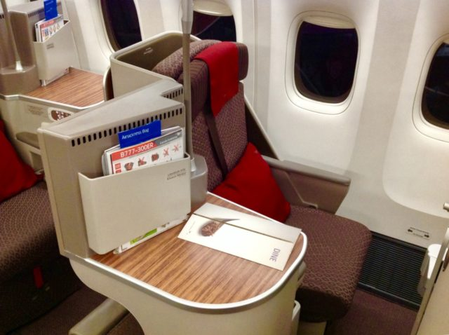 garuda indonesia, business class, boeing 777, review
